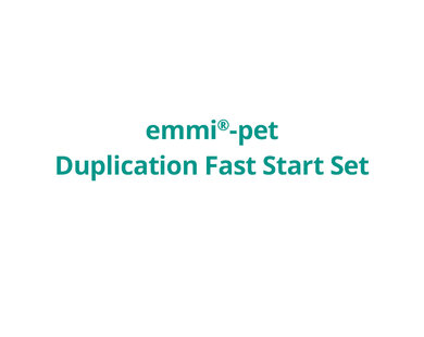 emmi®-pet Duplication Fast Start Set -KLEIN-